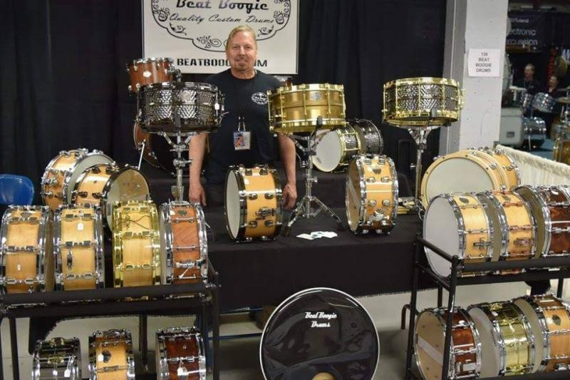 Steve Crabtree - Beat Boogie Quality Custom Drums - Chicago Drum Show 2016