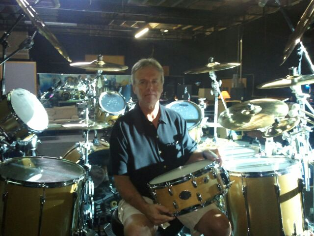 Kansas Drummer Phil Ehart plays Beat Boogie Custom Snare